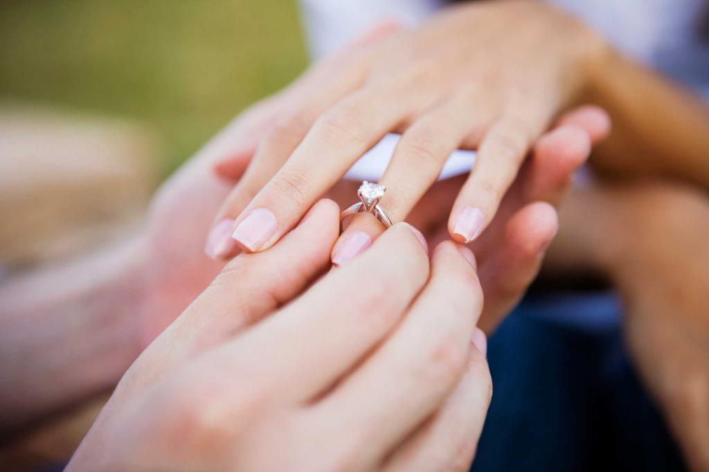 Надел кольцо