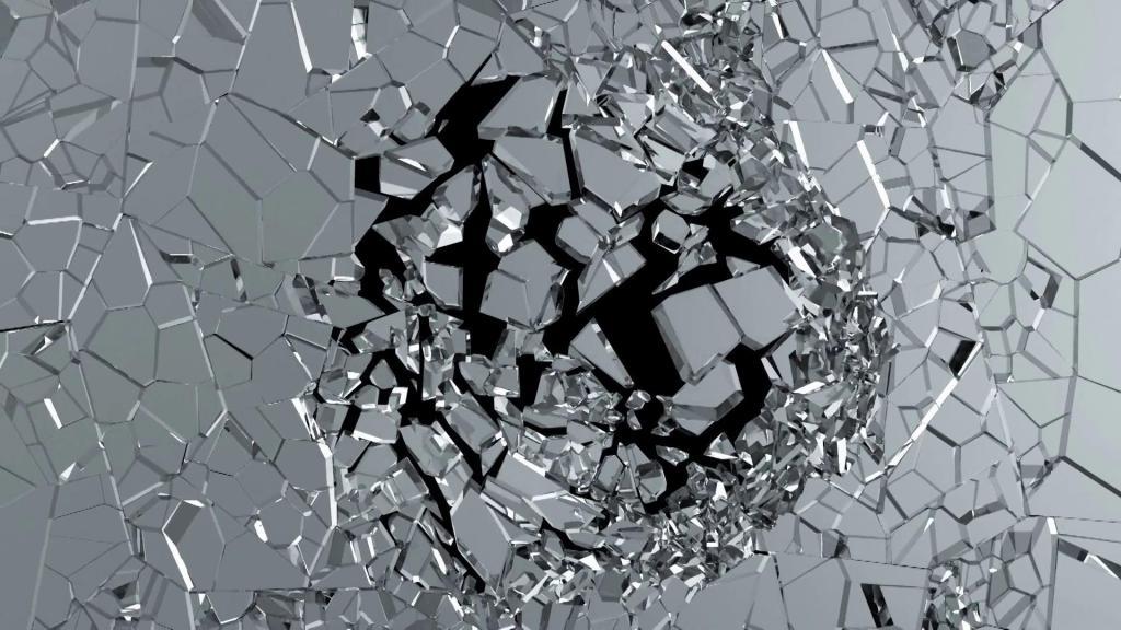 картинки осколок или разбитого стекла городе сохранилась