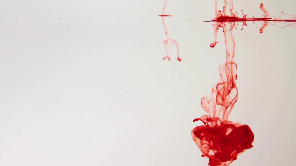 Капельки крови