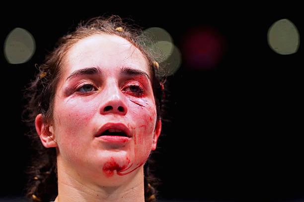 Кровь после драки