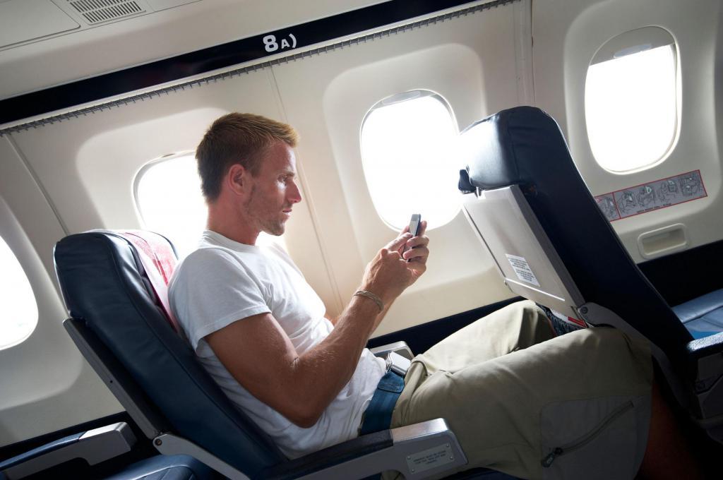 пассажир самолете