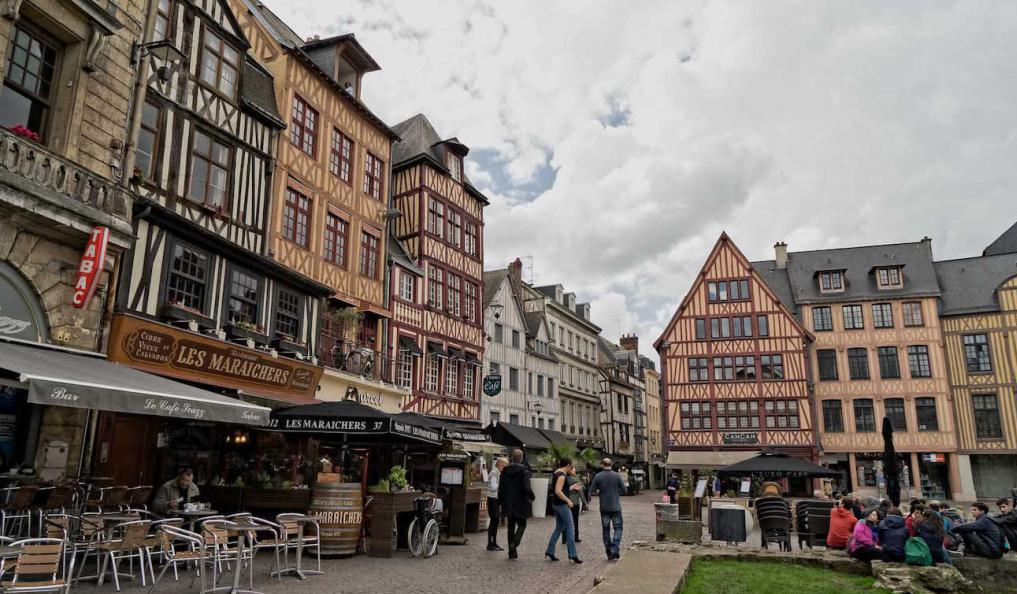 Город со старинной архитектурой
