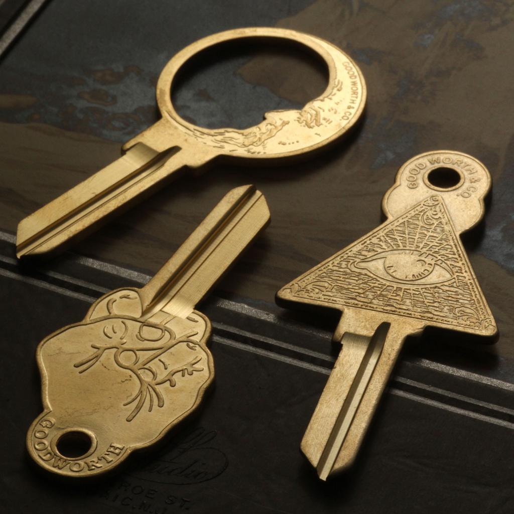 Ключ оказался на земле или столе, при этом сновидец его поднял.