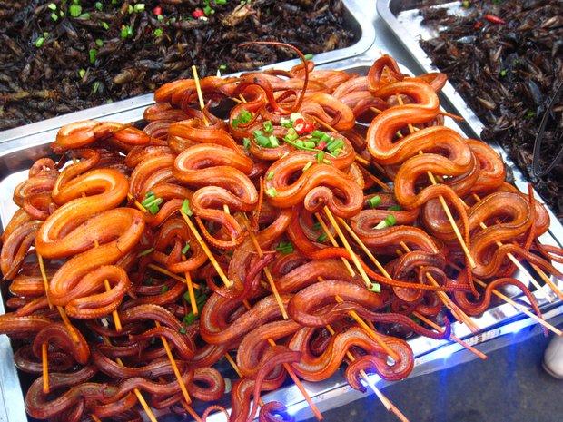 Блюда из змеи