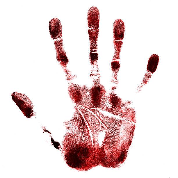 Кровь и рука