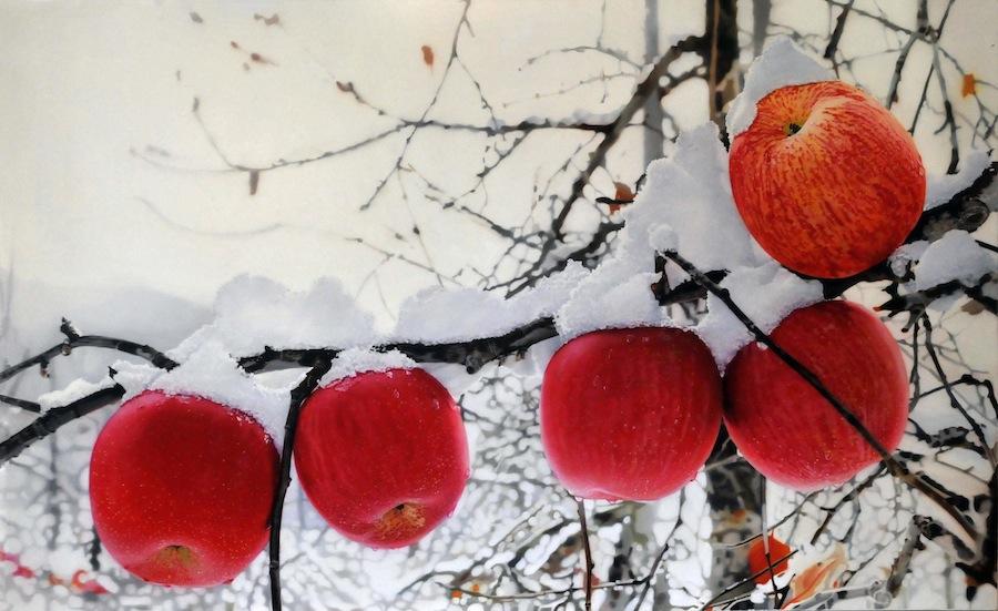 К чему снятся зеленые яблоки на дереве