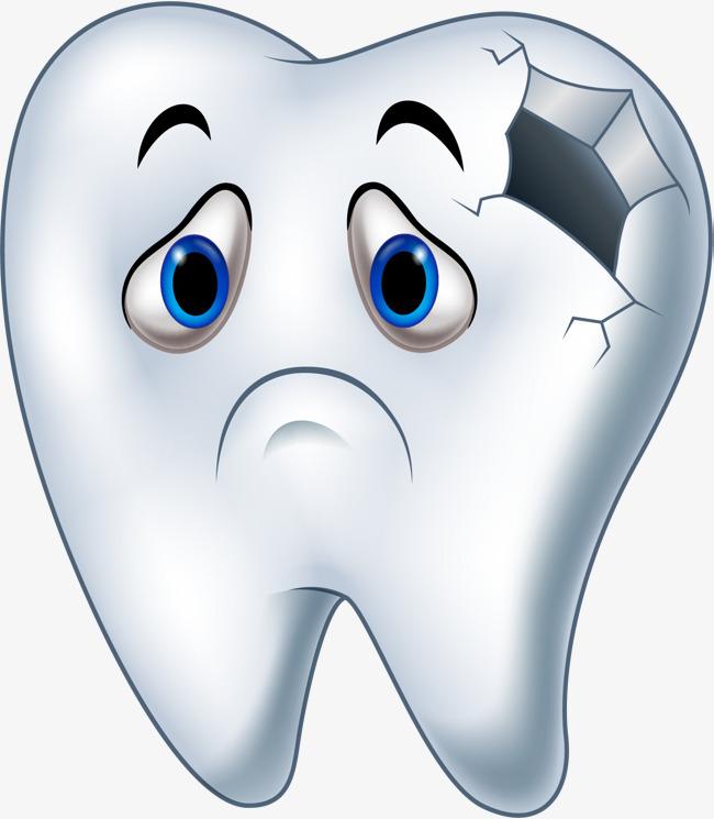 Картинка больного зуба для детей