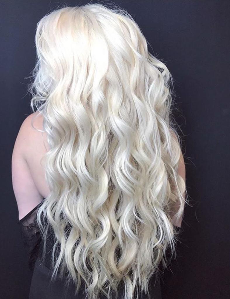 Видеть свои волосы другого цвета