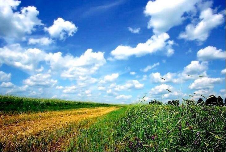 Синее небо - символ спокойствия
