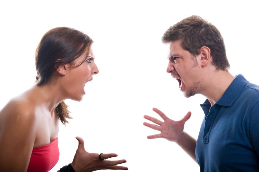 ссора на эмоциях