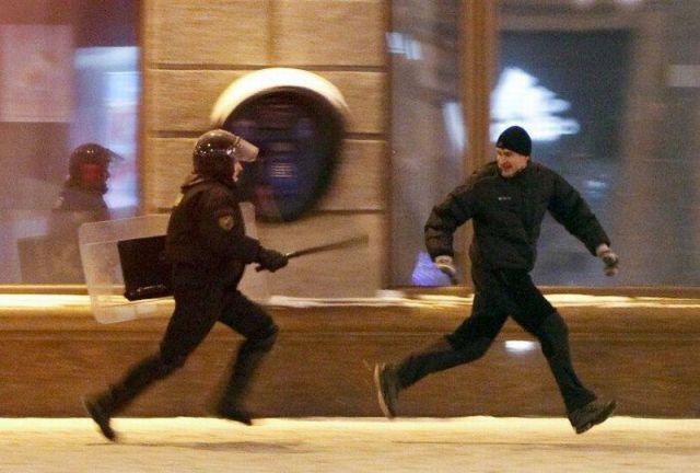 убегать от полиции сонник