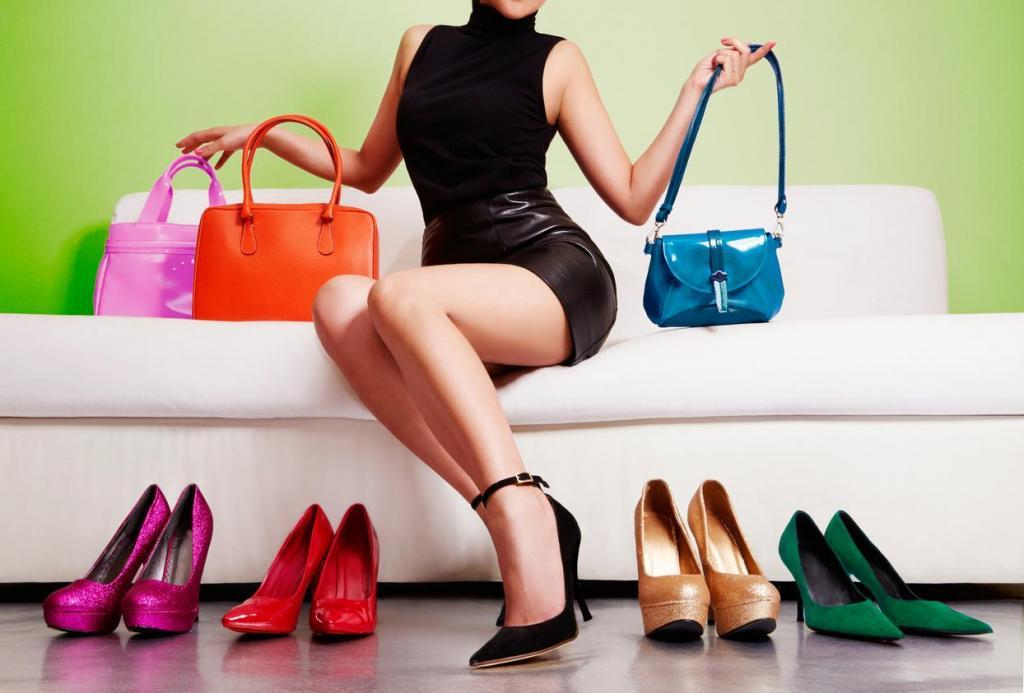 Реклама обуви и сумок картинки
