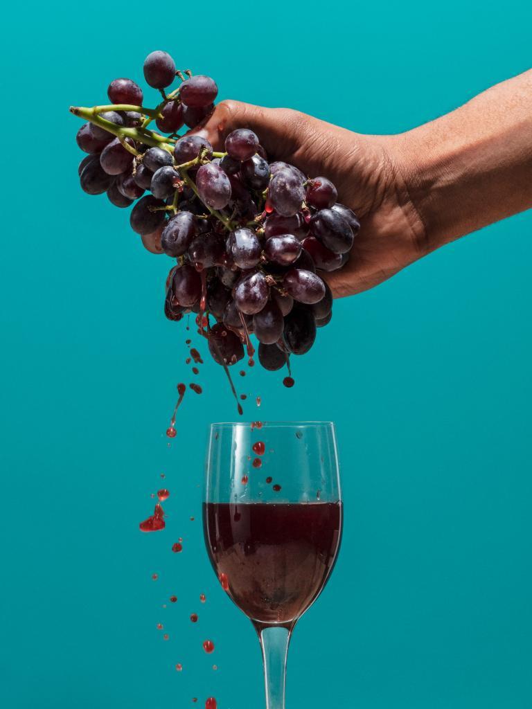 Приснился виноград на ветках